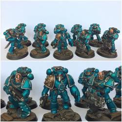 Pre-Heresy Alpha Legion Vet Squad 2 by ak1508