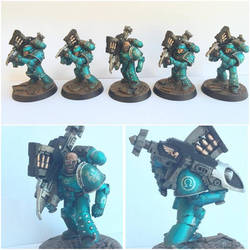 Pre-Heresy Alpha Legion Missile Launcher Squad