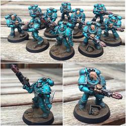 Alpha Legion Melta Gun Support Squad (updated) by ak1508