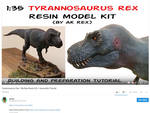 Tyrannosaurus Rex 1:35 scale - my first resin kit! by ak1508