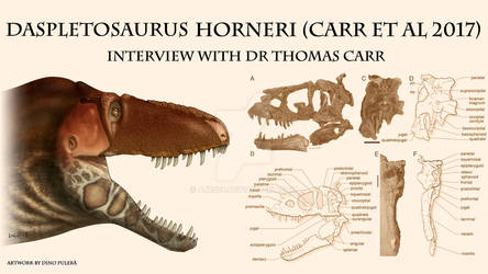 Interview with Dr Thomas Carr! (part 1) LINK BELOW