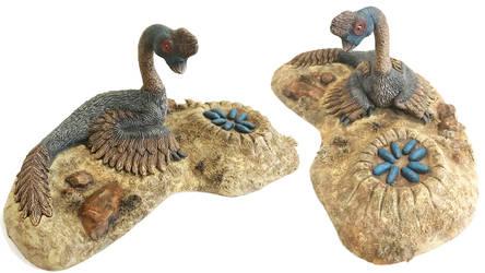 My Oviraptor Resin Kit Sculpture