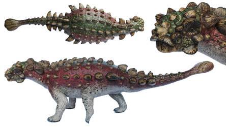 Akainacephalus Johnsoni sculpture