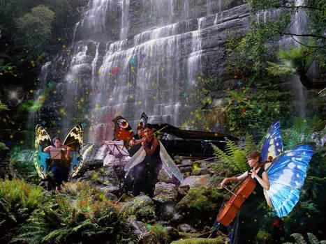 Fairies waterfall