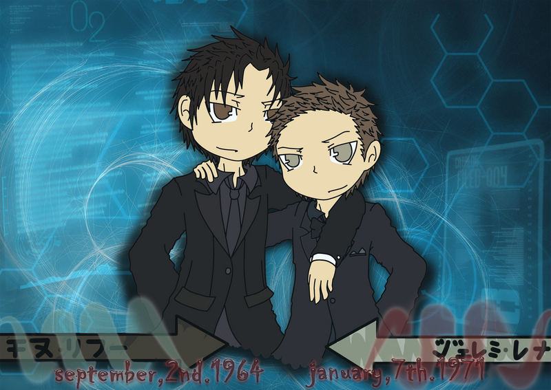 horror team up ~JLR-KCR~ wallpaper by BeePrimeTF