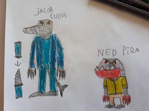 Jacob Cuda and Ned Pira.