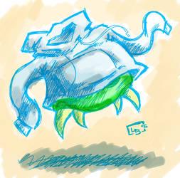 Metroid Hoodie by Gonmon