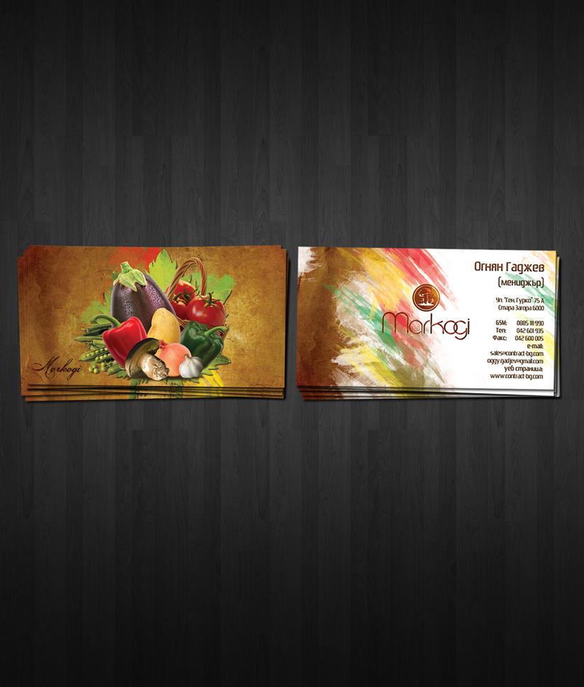 business cards by vencarrr