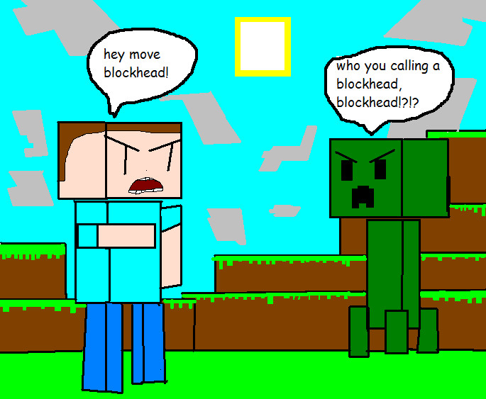 Minecraft comic 1 creeper by rageguy87 on deviantart minecraft comic 1 creeper by rageguy87 voltagebd Gallery