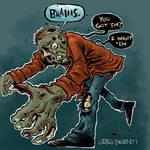 Zombies Like Brains