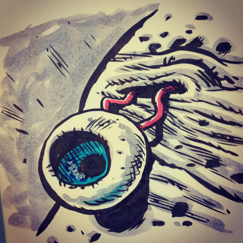 My Bad Eye by thegreck