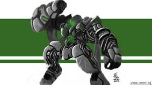 Armor Testing (Mecha Concept)