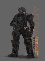 ASSAULT SPECIALIST MKII by ianskie1