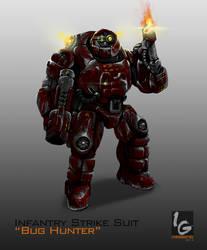 Infantry Strike Suit Bug Hunter by ianskie1