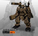 (COMMISSION) ASSAULT SUIT MK.1