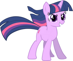 Twilight Sparkle Vector No BG by pokerface3699