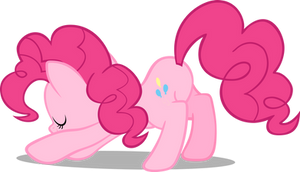 Pinkie Pie bowing by pokerface3699