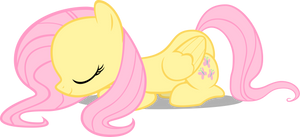 Fluttershy Bowing