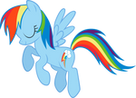 Rainbow Dash not Bowing