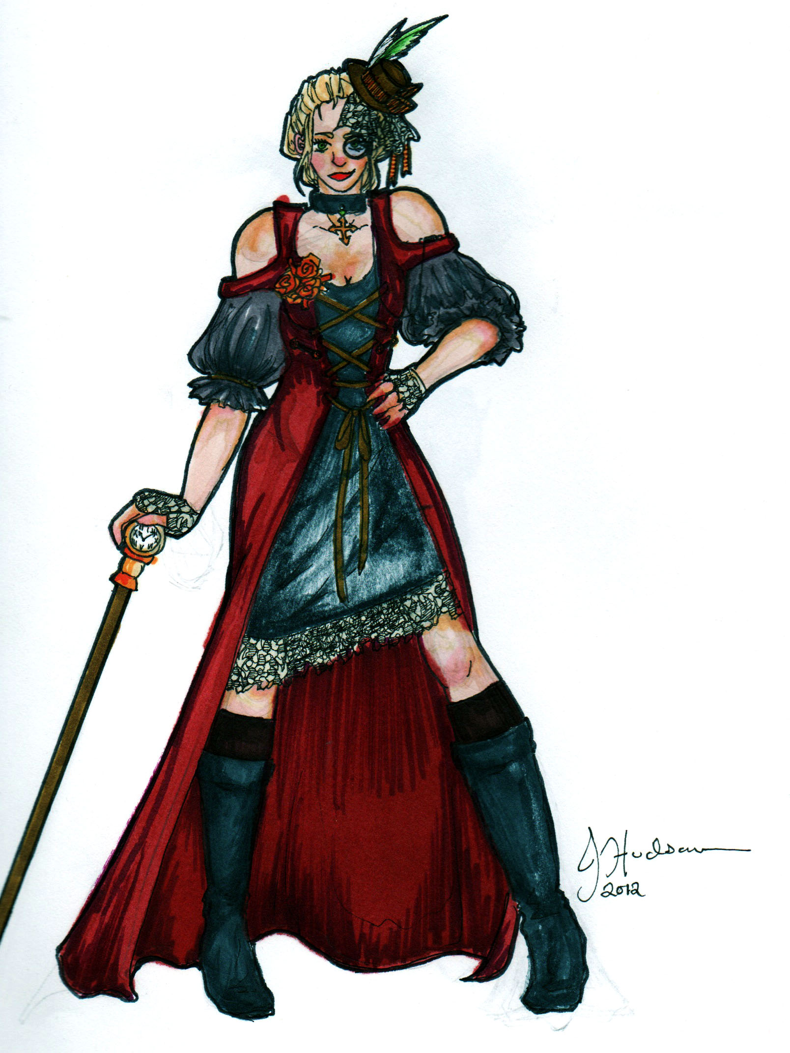 Lady Vapeur by The-Black-Phoenix418