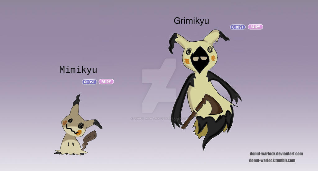 Mimikyu S Evolution Fan Made By Donut Warlock On Deviantart