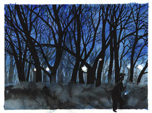 Lights in the night by ayjaja