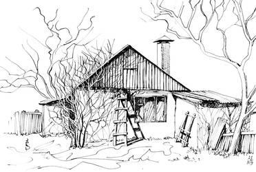 House at the countryside by ayjaja