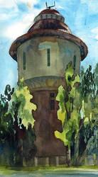 Watertower by ayjaja
