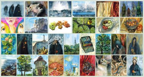 Watercolour month by ayjaja
