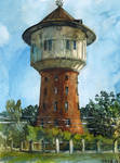 Water tower by ayjaja