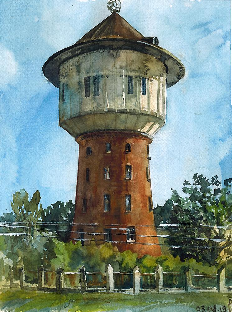 Water tower by ayjaja