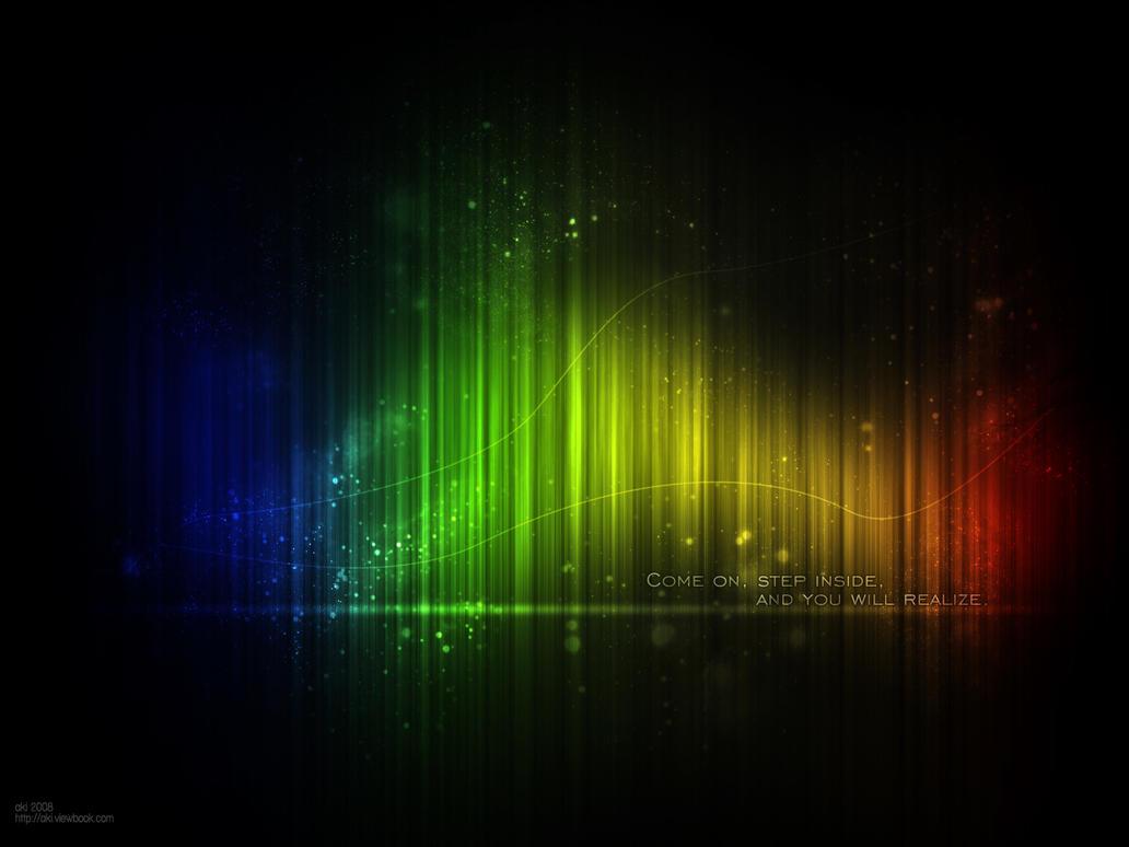 rainbow wallpaper by xxtomekxx