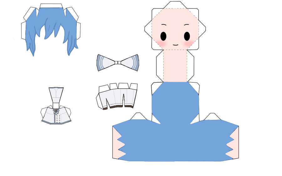 White Blazer Papercraft by OnsenManjuKun
