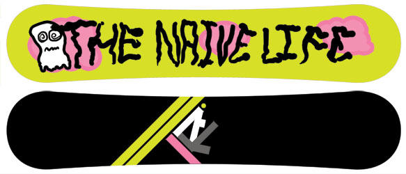 The Naive Life SNOWBOARD by chemistry