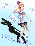 Akikoroid-chan Daydream-Merchant by CrisisNoi