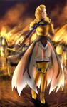 Sweet Ann Fantasy-Bladesinger by CrisisNoi