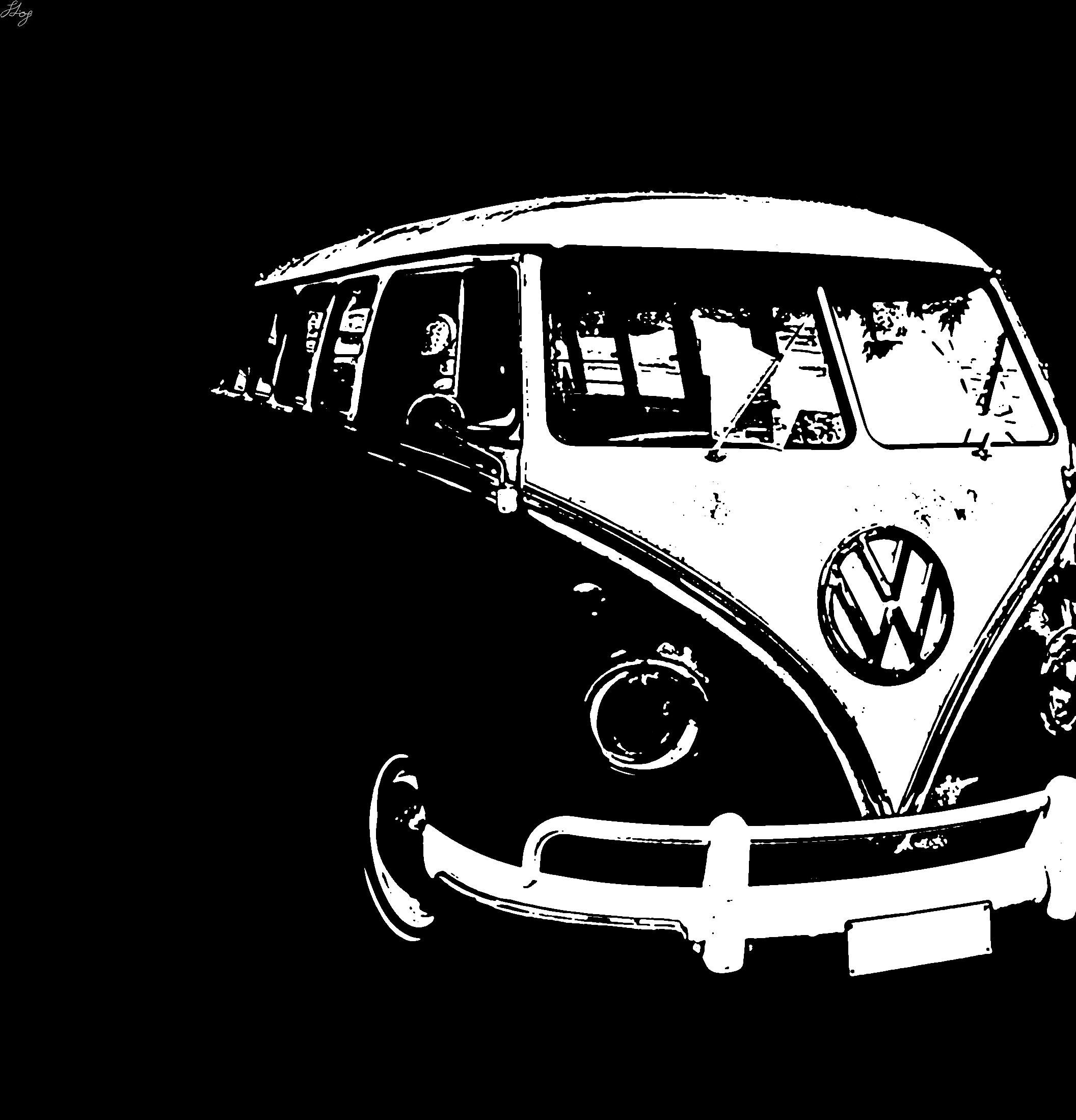 VW Camper Van By Random-liquo On DeviantArt