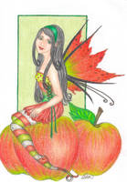Apple Fairy by blue-willow