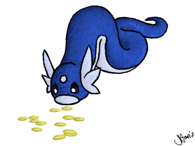 Starter Poké Collection Dratini__s_coins_by_serenelittlerose-d59cig9