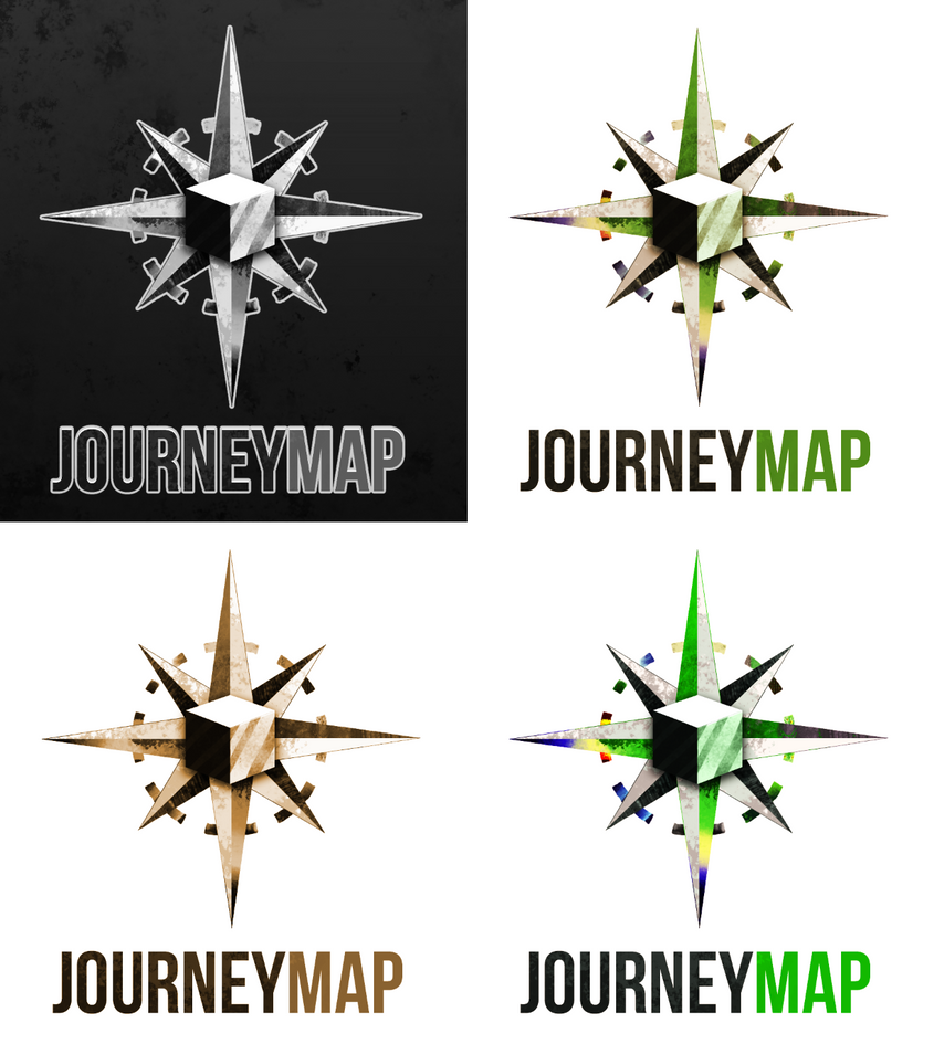 JourneyMap Logo Commission by sarydactl