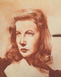 Sanguine portrait