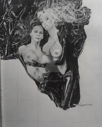 Lesbienne work in progress (drawing)