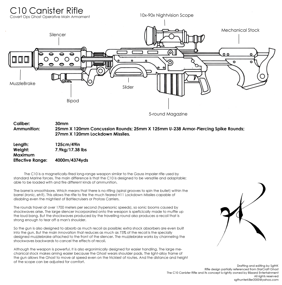 C10 Canister Rifle Draft by SgtHK