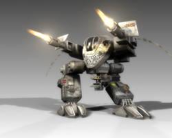 Goliath Autocannon Fire by SgtHK