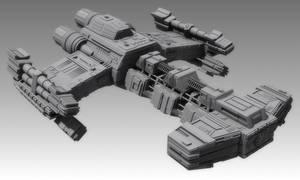 New Battlecruiser - untextured