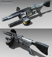 Overwatch Pulse Rifle Textured by SgtHK
