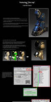 Texture Tutorial: The Leg Pt.2 by SgtHK