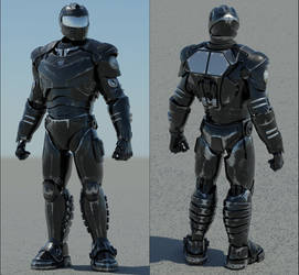 Armored Soldier