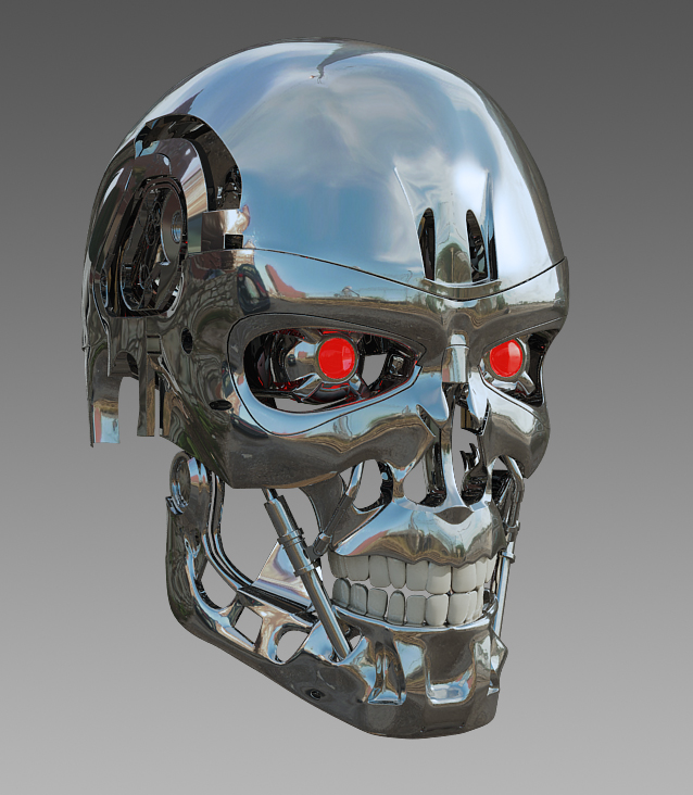 Terminator Head by SgtHK