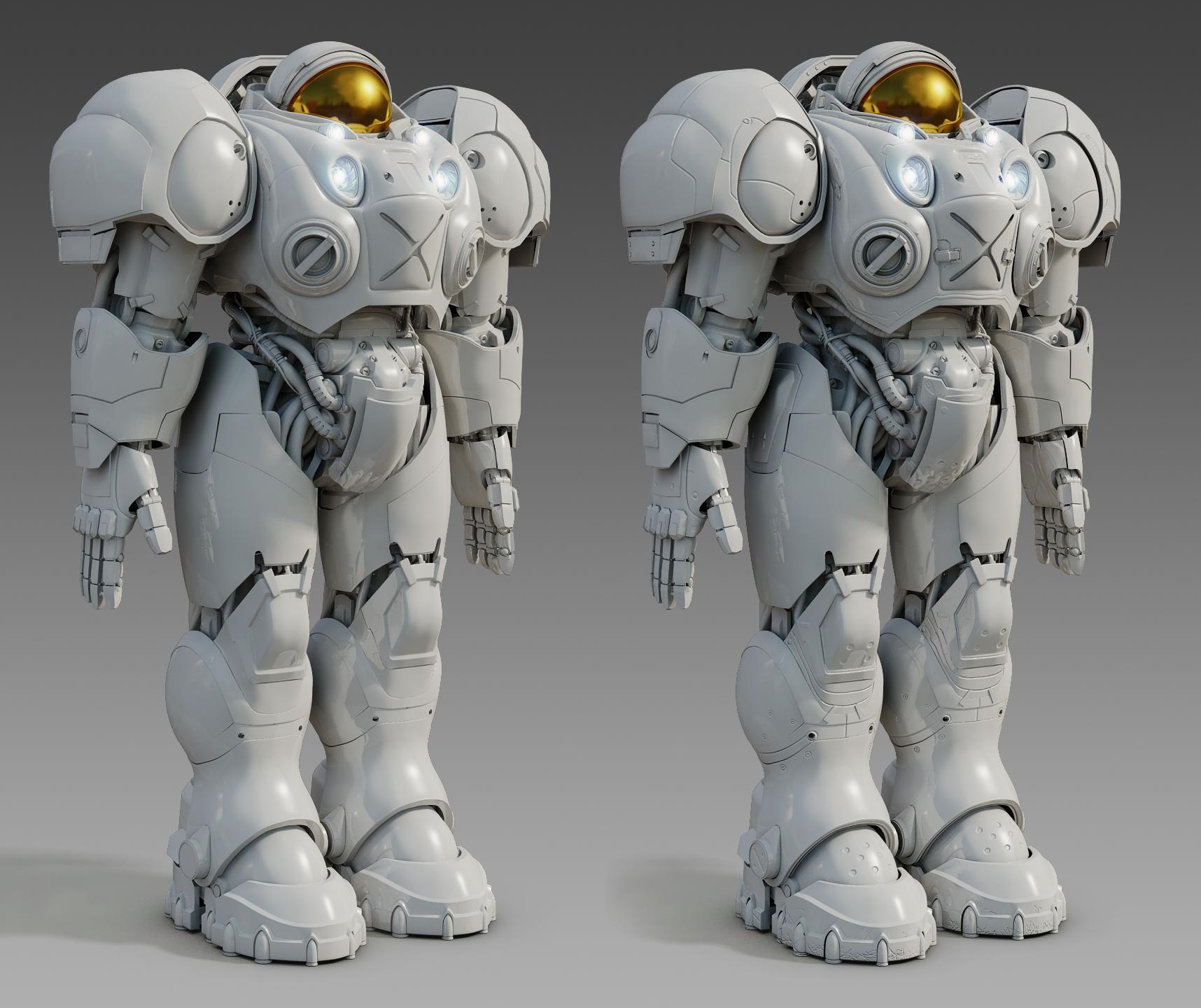Terran Marine 2 by SgtHK